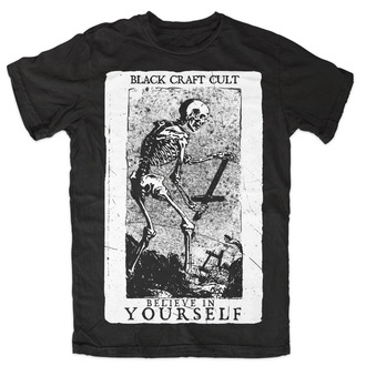 póló férfi női unisex - Believe In Yourself - BLACK CRAFT - MT070BT