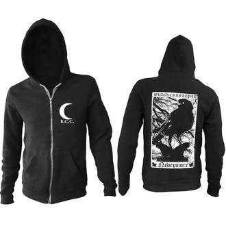 kapucnis pulóver férfi - Nevermore - BLACK CRAFT