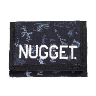 NUGGET Pénztárca - BREAKOUT - D - 1/26/38 - Neon Fekete, NUGGET