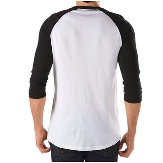 póló férfi VANS - OTW Raglan - WHITE-BLACK, VANS