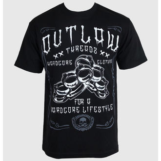 póló férfi női unisex - Hardcore - OUTLAW THREADZ, OUTLAW THREADZ
