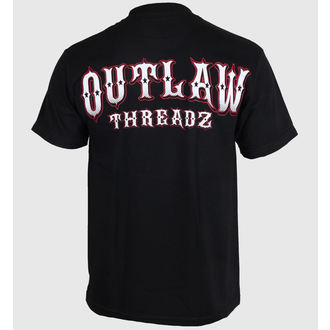 póló férfi női unisex - Fallen - OUTLAW THREADZ, OUTLAW THREADZ