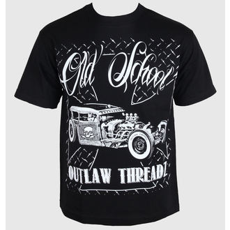 póló férfi női unisex - Old School - OUTLAW THREADZ, OUTLAW THREADZ