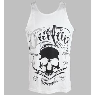 trikó férfi Outlaw Threadz - Tattoo - White, OUTLAW THREADZ