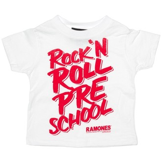 póló gyermek SOURPUSS - Ramones - RNR Pre School - White, SOURPUSS, Ramones