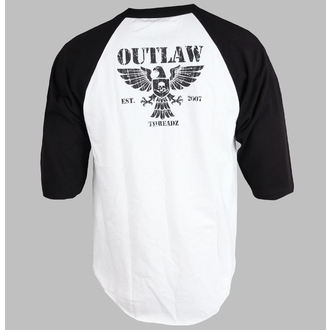 póló férfi női unisex - Crest - OUTLAW THREADZ, OUTLAW THREADZ
