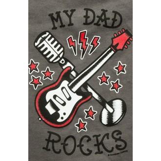 metál póló férfi női gyermek unisex - My Dad Rocks - SOURPUSS, SOURPUSS