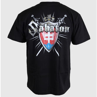 metál póló férfi női unisex Sabaton - Swedisch - CARTON, CARTON, Sabaton