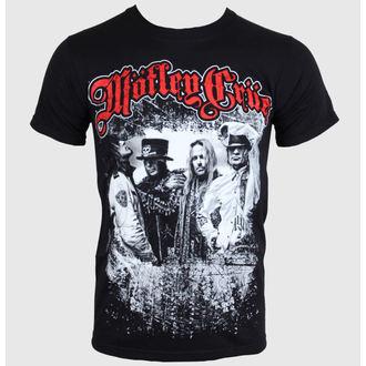 metál póló férfi női unisex Mötley Crüe - Greatest Hits Bandshot - ROCK OFF, ROCK OFF, Mötley Crüe