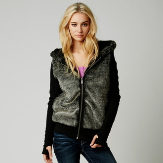 kapucnis pulóver női - Absolute Sasquatch - FOX