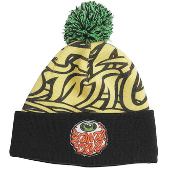 sapka SANTA CRUZ - Eyeball Bobble - Yellow/Black, SANTA CRUZ
