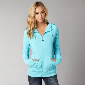 kapucnis pulóver női - HERITAGE - FOX
