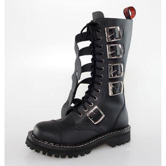 KMM cipő 14 lyukú - 5P - Black, KMM