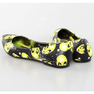 balerina cipők női - AREA 51 Pointy Flat - IRON FIST, IRON FIST