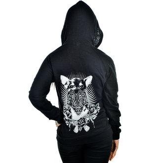 kapucnis pulóver női - CHIHUAHUA - TOO FAST, TOO FAST