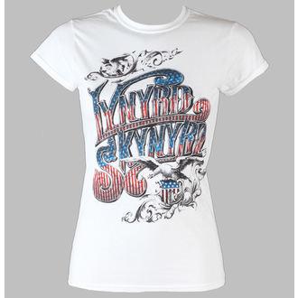 metál póló női Lynyrd Skynyrd - Usa Flag Logo - LIVE NATION, LIVE NATION, Lynyrd Skynyrd