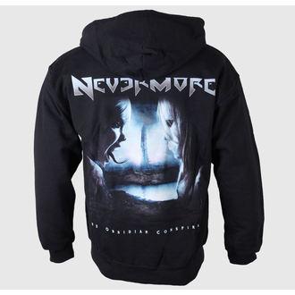 kapucnis pulóver férfi Nevermore - Logo-Album Back - Just Say Rock, Just Say Rock, Nevermore