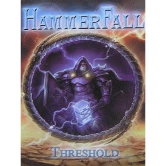 zászló Hammerfall - Küszöb, HEART ROCK, Hammerfall