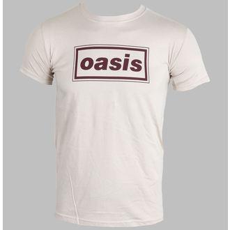 metál póló férfi Oasis - Classic Logo (Brown) - PLASTIC HEAD, PLASTIC HEAD, Oasis