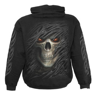 kapucnis pulóver férfi - TRIBAL DEATH - SPIRAL, SPIRAL