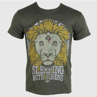 metál póló férfi Sleeping With Sirens - Lion Crest - PLASTIC HEAD, PLASTIC HEAD, Sleeping With Sirens