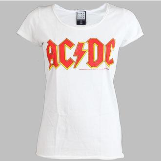metál póló női AC-DC - Logo - AMPLIFIED - AV601ACL