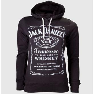 kapucnis pulóver női Jack Daniels - Black - JACK DANIELS, JACK DANIELS