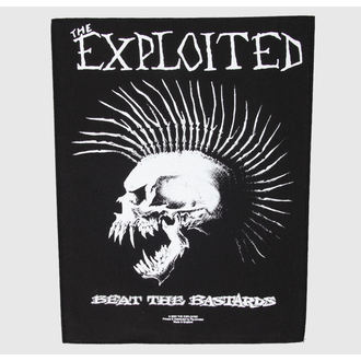 felvarró nagy The Exploited - Beat The Bastards - RAZAMATAZ, RAZAMATAZ, Exploited