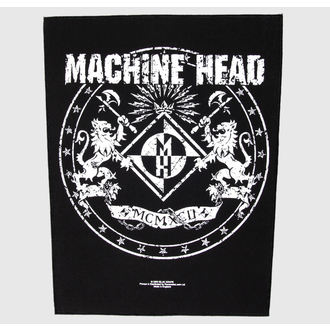felvarró nagy Machina Head - Crest - RAZAMATAZ, RAZAMATAZ, Machine Head