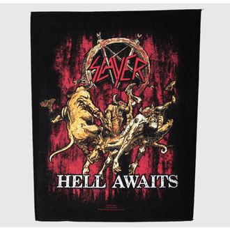 felvarró nagy Slayer - Hell Awaits - RAZAMATAZ, RAZAMATAZ, Slayer