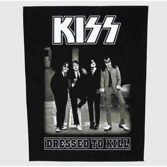 felvarró nagy Kiss - Dressed To Kill - RAZAMATAZ, RAZAMATAZ, Kiss