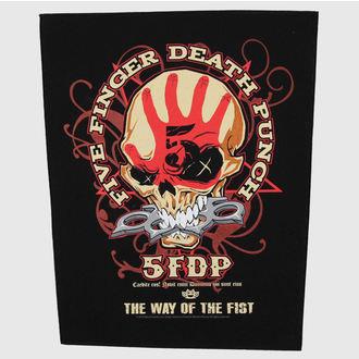 felvarró nagy Five Finger Death Puncs - Way Of The Fist - RAZAMATAZ, RAZAMATAZ, Five Finger Death Punch