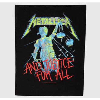 Metallica nagy felvarró - And Justice For All, RAZAMATAZ, Metallica