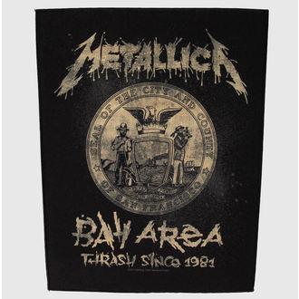 Metallica nagy felvarró - Bay Area Trash, RAZAMATAZ, Metallica