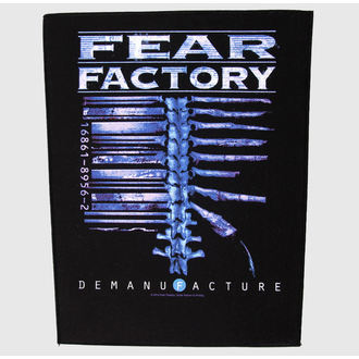 felvarró nagy Fear Factory - Demanufacture - RAZAMATAZ - BP956