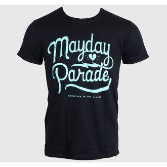metál póló férfi Mayday Parade - SCRIPT -BLACK - LIVE NATION