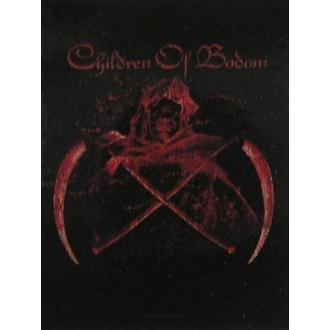 zászló Children of Bodom - Crossed Scythes, HEART ROCK, Children of Bodom