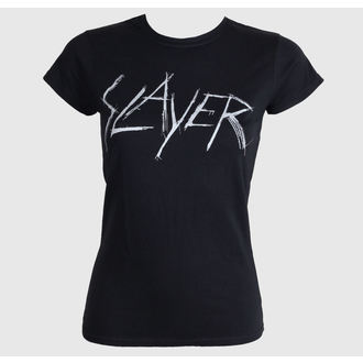metál póló női Slayer - Scratchy Logo - ROCK OFF, ROCK OFF, Slayer