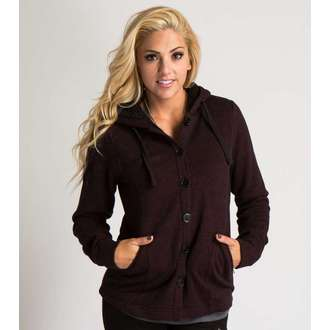 kapucnis pulóver női - COLD OUTSIDE - METAL MULISHA, METAL MULISHA