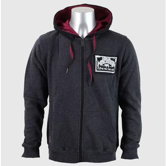 kapucnis pulóver férfi - SKULL CRACK - METAL MULISHA