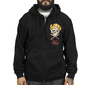 kapucnis pulóver férfi - Damon Badge - SULLEN