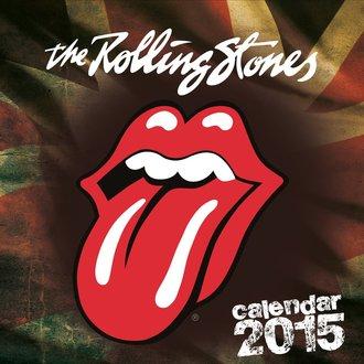 naptár 2015 ROLLING KÖVEK, NNM, Rolling Stones