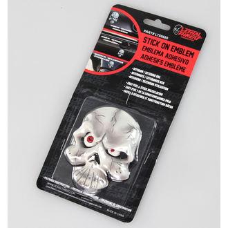 dekoráció ( kocsi) LETHAL THREAT - Eyeball Skull Emblem, LETHAL THREAT