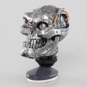 dekoráció ( felszerelés kar fej) LETHAL THREAT - Cyborg Skull Shift Knob / Dash Topper, LETHAL THREAT
