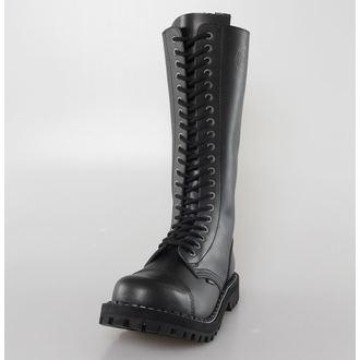 bőr csizma női - STEEL - 139/140-Black
