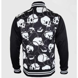 tavaszi/őszi dzseki férfi - Skull & Chains - LIQUOR BRAND, LIQUOR BRAND