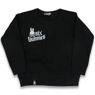 pulóver (kapucni nélkül) gyermek - Rock Bunnies - SIX BUNNIES, SIX BUNNIES