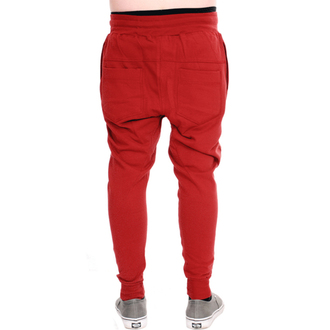 nadrág unisex (melegítő) 3RDAND56th - Carrot Fit Jogger - Bordó, 3RDAND56th