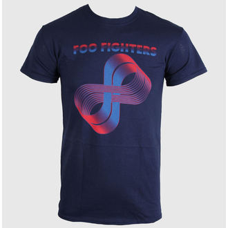 metál póló férfi Foo Fighters - Loops Logo - LIVE NATION, LIVE NATION, Foo Fighters