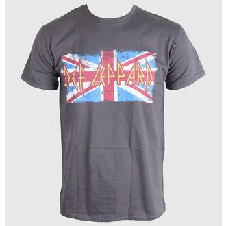 metál póló férfi Def Leppard - Union Jack - LIVE NATION, LIVE NATION, Def Leppard
